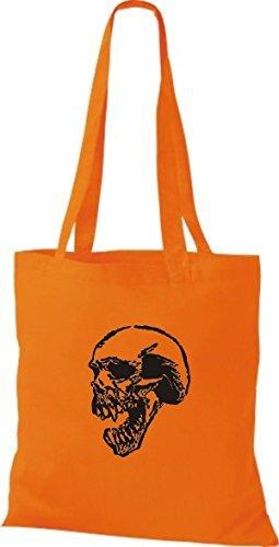 Borsa Delle Di Panno Donne Cotone Arancione Shirtinstyle Rq8ZT08