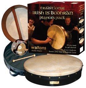 Waltons 15'' Plain Bodhran Pack by Waltons