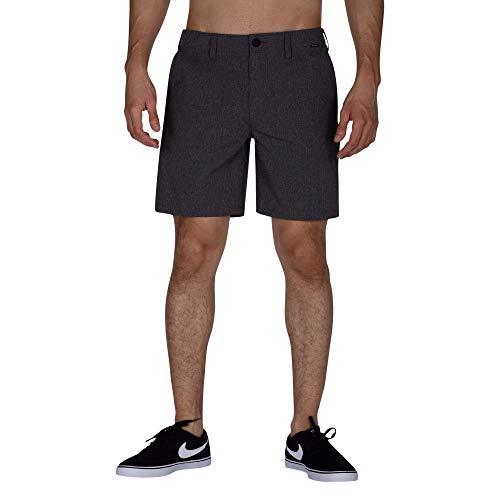 - Hurley Phantom Walkshort Foot Walk Shorts 32 inch Black Heather