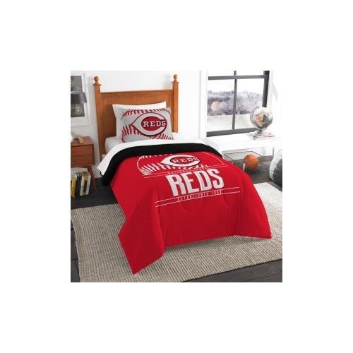 Cincinnati Reds Bedding (The Northwest Co mpany MLB Cincinnati Reds Grandslam Twin 2-piece Comforter Set)