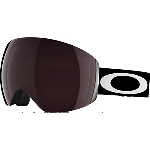 Oakley Flight Deck Ski Goggles, Matte Black/Prizm Black - Oakley Deck Flight Goggles