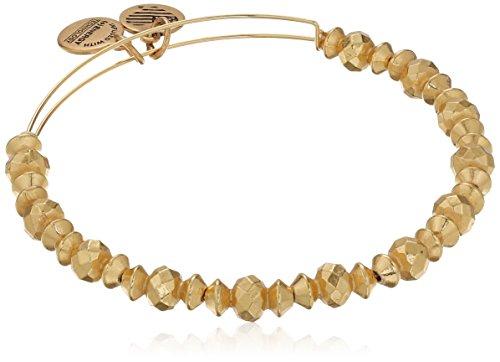 Alex and Ani Canyon Shiny Gold Finish Bracelet