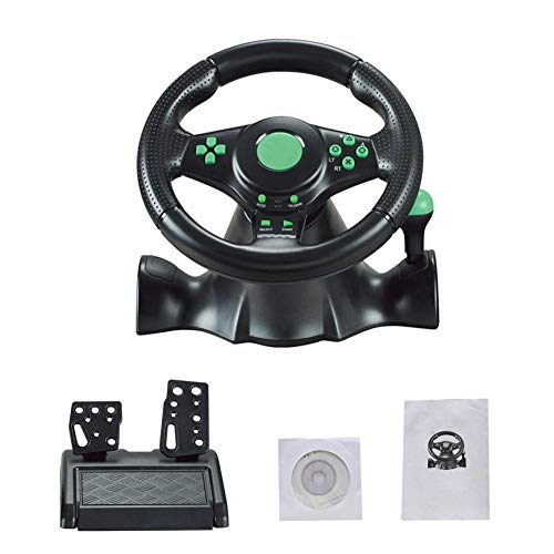 Driving Force Ps2 - Driving Force Race Wheel for Xbox - 360 / PS3/ PS2/ PC Game Racing Steering Wheel USB Computer Vibration
