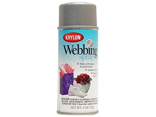 Krylon Marbelizing Spray Decorative Finishes Aerosol 4 oz. Silver Shiver (Faux Finish Spray)