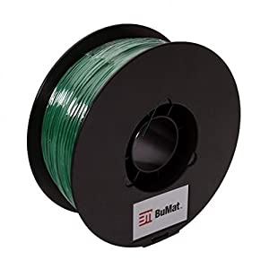 BuMat PLADG 1.75mm 2.2lbs Dark Green Filament Printing Material Supply Spool for 3D Printer by BuMat