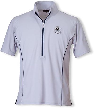 EQULIBERTA(エクリベルタ) 2017SS クールスポーツシャツ メンズ シルバーグレー S EQ-CW-1629-ME