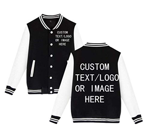 Custom Logo Print Men's Women's Varsity Jacket Baseball Jacket Personalized Sport Coats