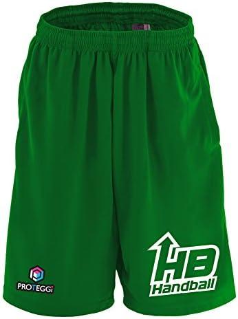 (プロテッジ) PROTEGGi アローロゴデザイン HB Handball ドライハーフパンツ