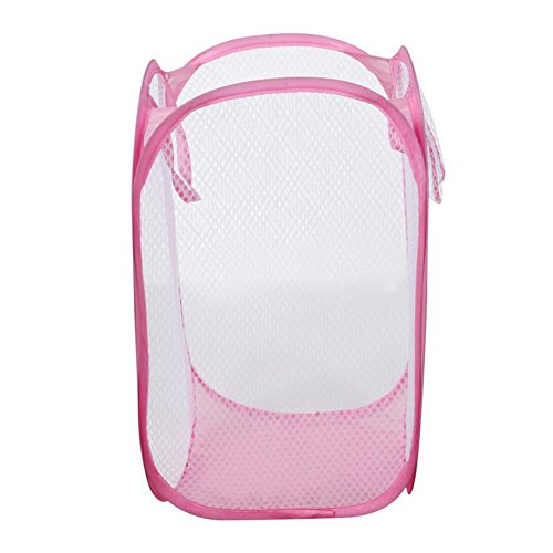 Autumn Water Foldable Clothes Storage Baskets Mesh Washing Dirty Clothes Laundry Basket Portable Sundries Organizer Toy Container