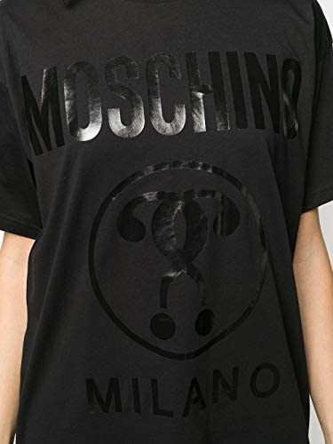 Moschino Luxury Fashion Donna A071705405555 Nero Cotone T-Shirt | Primavera-Estate 20