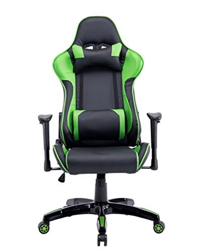 Baymate Computer Gaming Ergonomic Racing Chair Reclining PU Leather High Back Armrest Office Chairs Most Popular