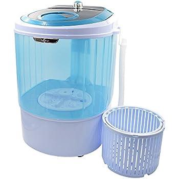 Panda 5.5 lbs Counter Top Washing machine with Spin basket