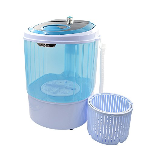 Panda 5.5 lbs Counter Top Washing machine with Spin basket