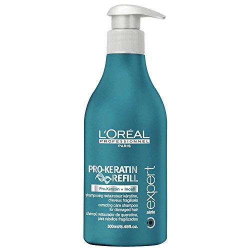 Loreal Pro-keratin Refill Shampoo for Damaged & Weakened Hair 16.9 Oz All Hair Types