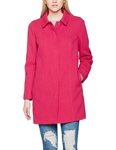 para Coat Colors Pink Abrigo of Classic Cherry Benetton Mujer United Coloured Rosa wq41H00