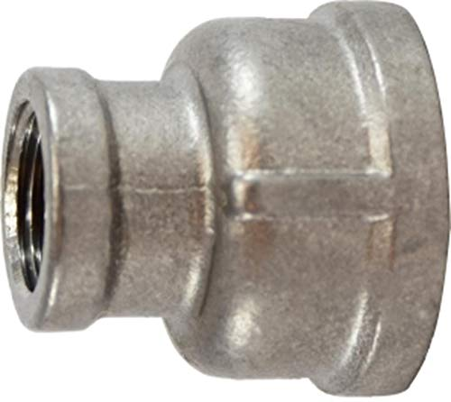 150# 304 Stainless Steel Midland 62-452 304 Stainless Steel Reducing Coupling 2 x 1 2 x 1 Midland Metal Size