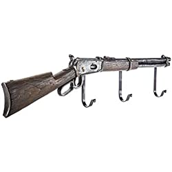 Hook 4 You Rifle Wall Decor with Hooks Coat Hanger Rustic Western Country Decor Rustic Kitchen Hallway Storage Hook Towel Coat Hallway Jacket Hat Scarf Hook