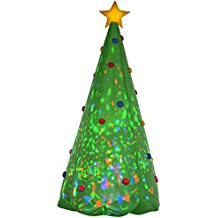Gemmy Christmas Tree Inflatable, 8-Feet, Green