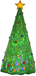 Gemmy Christmas Tree Inflatable, 8-Feet, Green