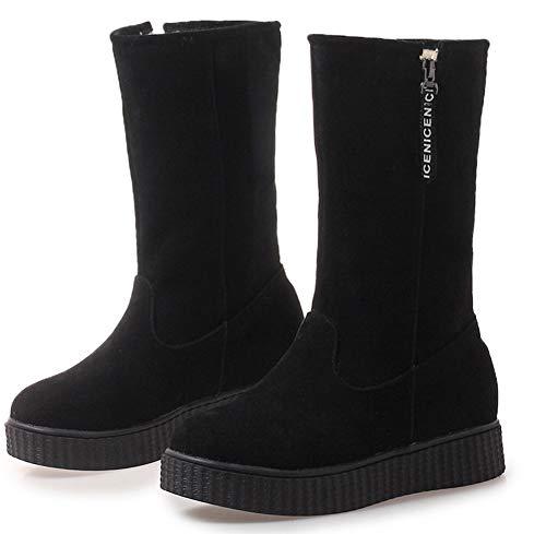 Chaussures Rond Femme Mod Bout Plates Classique Aisun 7wfgqXEg