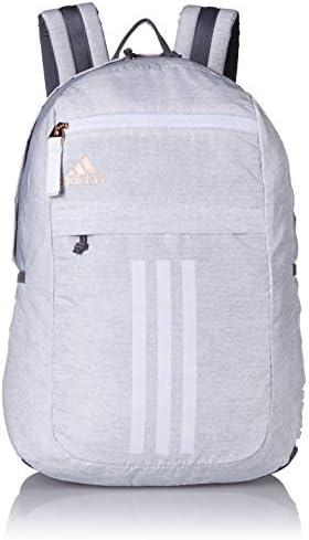 adidas Unisex League 3 Stripe Backpack, Jersey White/Rose Gold ...