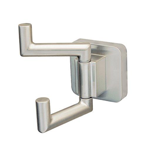 Speakman SA-2408-BN Kubos Double Robe Hook, Brushed Nickel ()