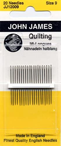 Colonial Needle 20 Count John James Between Quilting Needles, Size 9 by Colonial Needle