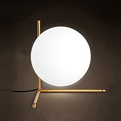 Table lamp AL-61229Nordic Table Glass, Glass Ball, Minimalist Creative Personality, Bedroom Bedside Office, Hotel Decoration Desk lamp