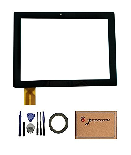 Pcspareparts Replacement Digitizer Touch Screen Polaroid Q1010 10 Inch Tablet PC