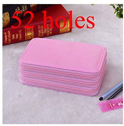 Amazon.com: Stone Wordd Cute Pencil case 52 Holders 3 Layers ...