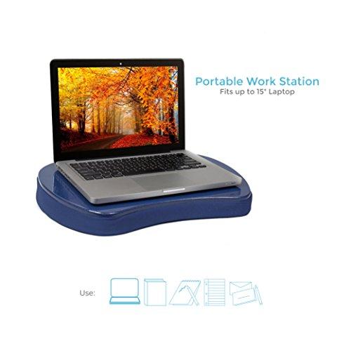 Sofia Sam Mini Memory Foam Lap Desk Color Blue