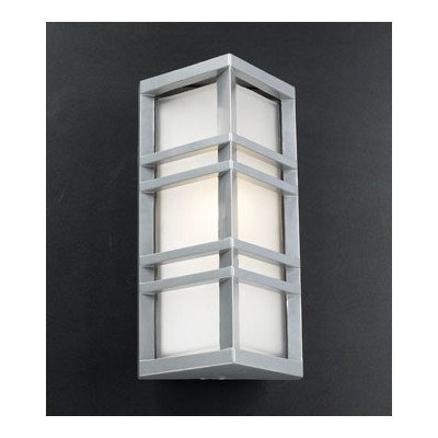 Trevino Outdoor Wall Sconce Finish: Architectural Silver - Architectural Silver Outdoor Wall