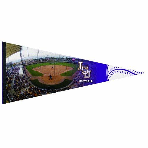 NCAA Louisiana State Fightin Tigers Softball Premium Quality