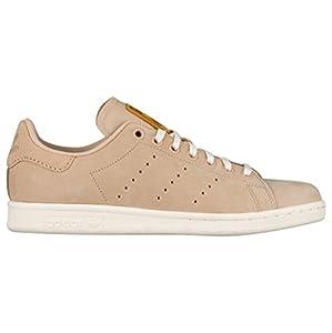 adidas Originals Women's Superstar W Fashion Suede Sneaker S82264 , Pale Nude Beige/Cream Off White, 10 M US