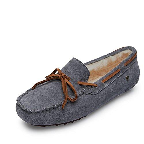 Zapatos de frijoles/Zapato del plano/Versión coreana de zapatilla de deporte/zapatos casuales/escoge los zapatos H