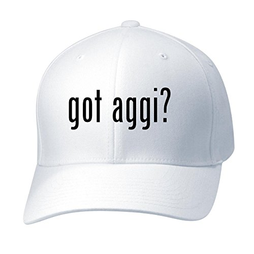 BH Cool Designs Got aggi? - Baseball Hat Cap Adult, White, Large/X-Large