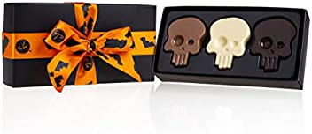 Frau M/änner Kind Halloweens/ü/ßigkeiten Jungen M/ädchen ChocoSch/ädel Erwachsene Kinder Schokolade Geschenk Halloweenparty Sch/ädel Schoko Totenkopf Halloween Frauen Mann