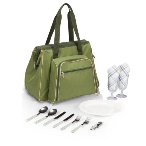 Picnic Time Toluca Insulated Cooler Picnic Tote, - Picnic Travel Time Accessories