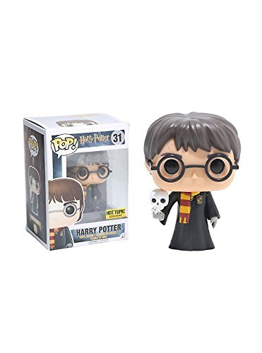 Funko Pop! Harry Potter with Hedwig Hot Topic Excl…