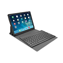 Kensington KeyFolio Exact with Removable Bluetooth Keyboard and Google Drive Offer for iPad Air (iPad 5), Black (K97006US)