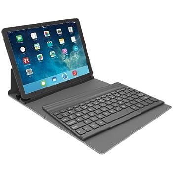 Kensington KeyFolio Exact with Removable Bluetooth Keyboard   for iPad Air (iPad 5), Black (K97006US)