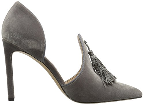 Nine West Women's Tyrell Fabric Pump Dark Grey H9J16KUhLf