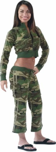 1019 Women's Woodland Capri Sweatpant (X-Large)