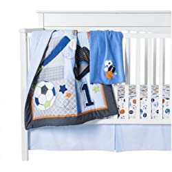 Circo L'il Player 4-Piece Crib Bedding Sports Set