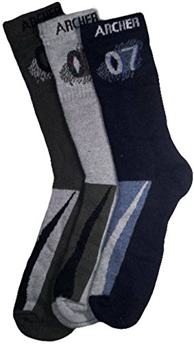 High Quality Mid calf Length Socks  3 Pair Pack