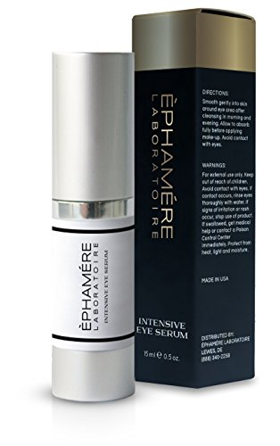 Ephamere Laboratorie Intensive Eye Serum for Younger Looking Eyes, Reduce Fine Lines, Dark Circles, Wrinkles Moisturize with Mango, Papaya, and Lemon Extract Paraben free, Sulfate free, Gluten free