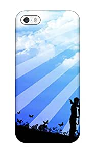 New Style Special Design Back Sping Love Phone Case Cover For Iphone 5/5s