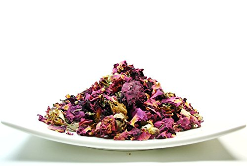 Organic Petals - Organic Rose Flower Buds and Petals Tea caffeine free herbal tea – 1 LB Bag