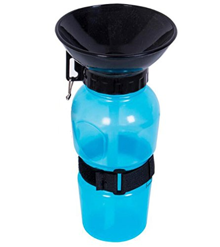 Little World Auto Dog Mug Outdoor Portable Dog Water Bottle Travelling Kettle Bowl Drinking Bottle Pet Supplies for Dogs-Blue (Products Outdoor Kirkham)