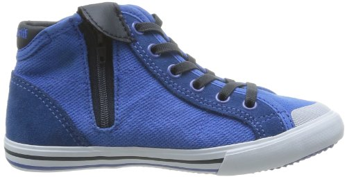 Blue mode Olympian Cotton Sportif Ps mixte Coq enfant Le Malo Saint Bleu Mid Pique Baskets qOcwA